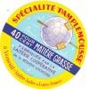 ETIQUETTE DE FROMAGE  PAMPLEMOUSSE LAITERIE COOP DE LA REGION LOCHOISE - Fromage