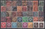 DR Dienstmarken Gestempelt Lot 02 Ansehen !!!!!!!!!!!!! - Briefmarken