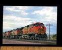 TRAINS : Train Locomotive Burlington Northern Santa Fe (BNSF) Railways Engine Chemin De Fer Zug Bahn - Trains