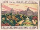 AUTRICHE VIENNE National Muséum + Texte Au Dos Chromo Publicitaire  Chocolat Pupier Années 35/40 - Cioccolato
