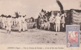 Niger  - Zinder-  Vue Du Champ De Courses  - Scan Recto-verso - Niger