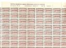 Sello Nº 343  Marruecos En Pliego De 100 Sellos. - Spanisch-Marokko