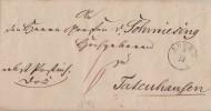 Brief Gelaufen Von Ahlen Am 9.12.1846 Nach Totenhausen - Deutschland