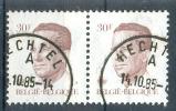OCB Nr 2126 Boudewijn Baudouin Velghe - Stempel Hechtel - 1981-1990 Velghe