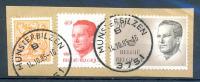 OCB Nr Boudewijn Baudouin Velghe - Stempel Munsterbilzen 3751 Op Fragment - 1981-1990 Velghe