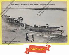 CPA Afrique Occidentale  Bords Du NIGER  Pirogues De Pêcheurs ( Collection Générale Fortier  Dakar ) - Niger