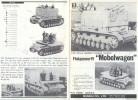 Bandai. The 1/48 Scale German Panzer Truppe. Plane For Flakpancer IV Mobelwagen. - Literature & DVD