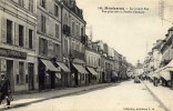 77 MONTEREAU La Grande Rue  Animée Banque Société Générale - Montereau
