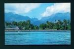 TAHITI  -  Beach At Taaone  Unused Postcard As Scan - Tahiti