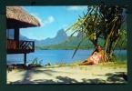 FRENCH POLYNESIA  -  Moorea  Hotel Aimeo  Unused Postcard As Scan - French Polynesia
