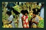 FIJI  -  Suva  Fruit Market  Unused Postcard As Scan - Fiji