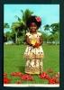 FIJI  -  Elizabeth  Fijian Girl In Sunday Best Clothing  Unused Postcard As Scan - Fiji