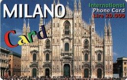 *ITALIA* -  Scheda Usata - Italië