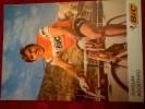 Joaquim Agostinho BIC Autographe Manuscrit - Cycling