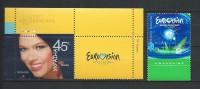 "Ukraine 2005 Song Contest ""Eurovision 2005"".music.Mi - 717/718.MNH - Ukraine"