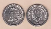 """ALBANIA - 5 LEKE 1.995 KM#76 Colección """"MONEDAS DE EUROPA""""  SC/UNC  Réplica  T-DL-11.481 - Albania"""