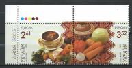 Ukraine 2005 Europa Stamps - Gastronomy.Mi - 719/720.MNH - Ukraine