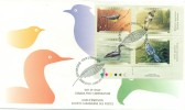 2000 Canada Birds 46c Plate Block First Day Cover - First Day Covers