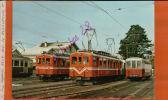 CPSM   A S D 31108 CH  - ABDe 4/4 1 Et 3  En Gare D'Aigle  -JAN 2016 683 - Bahnhöfe Mit Zügen
