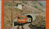 CPSM   A S D 31108 CH  -  ABDe 4/4 1   + B2 31 Sortant  Du Tunnel  De Verchiez En Rampe De 60%  -JAN 2016 685 - Eisenbahnen