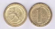 """FINLANDIA - 1 MARKKAA 1.998 KM#76 Colección """"MONEDAS DE EUROPA""""  SC/UNC  Réplica  T-DL-11.494 - Finlandia"""