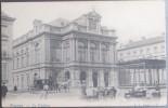 CPA Carte Postale Animée BRUGES BRUGGE Le Théâtre (calèche, Chevaux) (début 20e) (C) - Brugge
