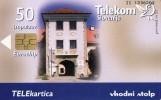TELECARTE SLOVENIE  50 Impulzov Chateau Castel GRADOVI - Slovénie