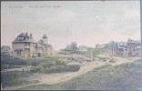 CPA Carte Postale Colorisée LA PANNE DE PANNE Villas Dans Les Dunes (C) - De Panne