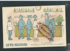 M071 - La Vie Militaire -  A La Cantine - Illustrateur - Humour - Militaire - Militaria - Humor
