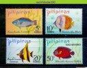 Mhc068 FAUNA VISSEN FISH FISCHE POISSONS MARINE LIFE FILIPIJNEN PILIPINAS 1972 PF/MNH # - Peces