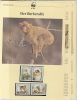 Algerie 1988  WWF /  Monkeys - Apes   4v ** Mnh With 3 Leaflets With Information About The Issue (W577) - Unused Stamps