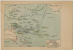 Pacific Islands Map, Marquises, Tonga, Fiji, Solomon,Tahiti, Tuamotou, Micronesie, Papua New Guinea, Samoa, Pitcairn - Postcards