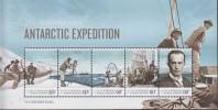 Antarctic.Australish Antarctisch Territory. 2014.Sheet.5v.Expeditie 1911-14.MNH.22268 - Australisch Antarctisch Territorium (AAT)