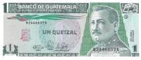 Guatemala - Pick 73 - 1 Quetzal 1990 - Unc - Guatemala