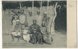 Guiné Portugueza Geba Reguio Iro Mané E Suas Mulheres Roi Et Ses 8 Femmes Seins Nus King With His 8 Wiwes - Guinea-Bissau