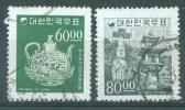 SOUTH KOREA  - 1966 - USED/OBLIT.  - Yv 428 - 429 Mi 547 - 548   - Lot 13213 - Corée Du Sud