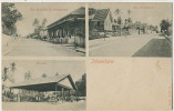 Inhambane Rua Mouzinho D. Albuquerque, Mercado, Rua D. Carlos 1o Undivided Back - Mozambique