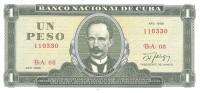 Cuba - Pick 102 - 1 Peso 1988 - Unc - Cuba
