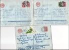 Lot De 3 Lettres De L'URSS Pour Thiais - Années 1966 Et 1967 - Machine Stamps (ATM)
