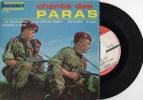 PARAS ) RARE- ´4 TITRES  PR2O7 CHANT DE PARAS    TRES  BELLE POCHETTE BE -  TITRES CI-DESSOUS - Ediciones Limitadas