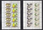 Australia 1998 WWF / Endangered Birds 2x2v In Sheetlets ** Mnh (W594) - W.W.F.