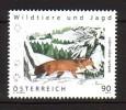 2012 autriche neuf ** n� 2844 faune : renard roux