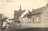 Linth / Lint : Dorpstraat Met Klein Gemeentehuis - Lint