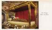 Andachtsbild - Die Heilige Klara Von Assisi - Rs Lebensgeschichte
