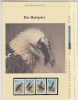 Lesotho 1986  WWF /  Bearded Vulture   4v ** Mnh With 3 Leaflets With Information About The Issue (W597) - W.W.F.