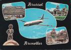 Belgica--Bruxelles--1979--Un Bonjour De Bruxelles-----Bruxelles-a, Freyming Merlebach, Francia - Aeroporto Bruxelles