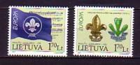 2007 lituanie neuf ** n� 814/15 europa : scoutisme