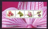 2010 canada neuf ** bloc n� 123 fleur : orchid�e