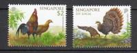 2013 singapour neuf ** n�  faune : poule : coq : �mission commune avec le vietnam