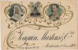 "Advert Joaquin Martins 25 De Agosto Montevideo Import Porto Jerez "" Eduardo VII "" Windmill King Edward VII - Uruguay"